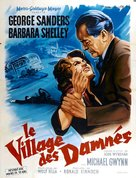 Village of the Damned - French Movie Poster (xs thumbnail)
