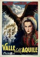 Valley of Eagles - Italian Movie Poster (xs thumbnail)