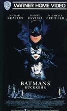 Batman Returns - German VHS movie cover (xs thumbnail)