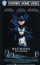 Batman Returns - German VHS movie cover (xs thumbnail)