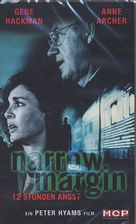 Narrow Margin - German VHS movie cover (xs thumbnail)