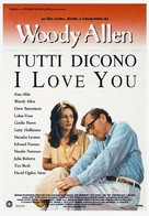 Everyone Says I Love You - Italian Theatrical movie poster (xs thumbnail)
