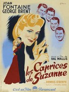 The Affairs of Susan - French Movie Poster (xs thumbnail)