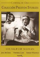 Sullivan's Travels - Spanish DVD cover (xs thumbnail)