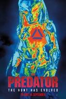 The Predator - Norwegian Movie Poster (xs thumbnail)