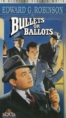 Bullets or Ballots - VHS movie cover (xs thumbnail)