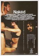 Naked - Japanese Movie Poster (xs thumbnail)