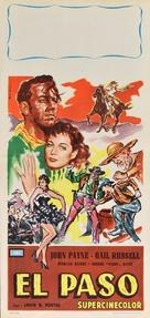El Paso - Italian Movie Poster (xs thumbnail)