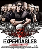 The Expendables - Japanese Blu-Ray cover (xs thumbnail)