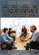 The Squid and the Whale - Turkish DVD movie cover (xs thumbnail)