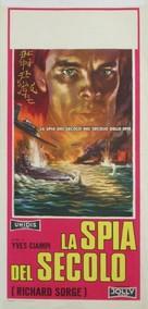 Qui êtes-vous, Monsieur Sorge? - Italian Movie Poster (xs thumbnail)