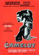 Camelot - Dutch Movie Poster (xs thumbnail)