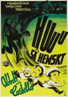 Bud Abbott Lou Costello Meet Frankenstein - Swedish Movie Poster (xs thumbnail)
