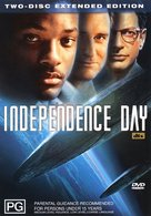 Independence Day - Australian DVD cover (xs thumbnail)