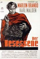 One-Eyed Jacks - German Movie Poster (xs thumbnail)