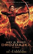 The Hunger Games: Mockingjay - Part 2 - Slovak Movie Poster (xs thumbnail)