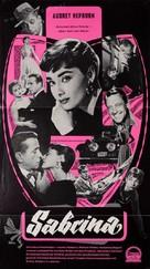 Sabrina - German poster (xs thumbnail)
