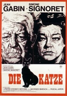 Le chat - German Movie Poster (xs thumbnail)