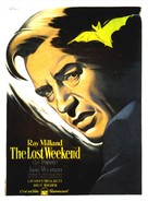 The Lost Weekend - French Movie Poster (xs thumbnail)