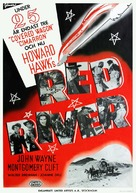 Red River - Swedish Movie Poster (xs thumbnail)