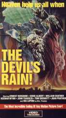 The Devil's Rain - VHS cover (xs thumbnail)