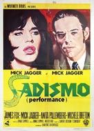Performance - Italian Movie Poster (xs thumbnail)