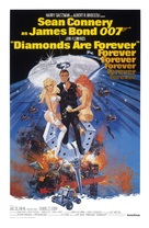 Diamonds Are Forever - Theatrical movie poster (xs thumbnail)