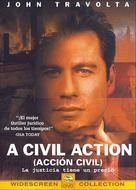A Civil Action - Spanish Movie Cover (xs thumbnail)