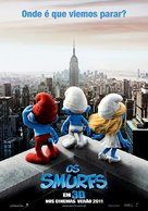 The Smurfs - Portuguese Movie Poster (xs thumbnail)
