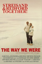 The Way We Were - poster (xs thumbnail)