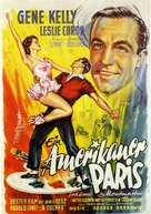 An American in Paris - German Movie Poster (xs thumbnail)