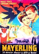 Kronprinz Rudolfs letzte Liebe - French Movie Poster (xs thumbnail)