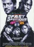 2 Fast 2 Furious - Spanish Movie Poster (xs thumbnail)
