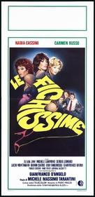 Giovani, belle... probabilmente ricche - Italian Movie Poster (xs thumbnail)