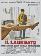 The Graduate - Italian Re-release poster (xs thumbnail)