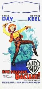 Calamity Jane - Italian Movie Poster (xs thumbnail)