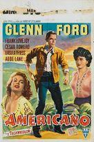 The Americano - Belgian Movie Poster (xs thumbnail)