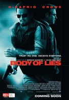 Body of Lies - Australian Movie Poster (xs thumbnail)