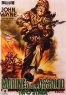 Sands of Iwo Jima - Italian Movie Poster (xs thumbnail)