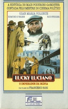 Lucky Luciano - Brazilian VHS cover (xs thumbnail)