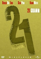 21 Grams - Hungarian DVD cover (xs thumbnail)