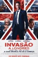 London Has Fallen - Brazilian Movie Poster (xs thumbnail)