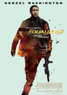 The Equalizer 2 - Slovak Movie Poster (xs thumbnail)
