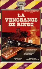 Cuatro salvajes, Los - French VHS movie cover (xs thumbnail)