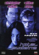 New Rose Hotel - Czech DVD cover (xs thumbnail)