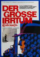 Il conformista - German Movie Poster (xs thumbnail)
