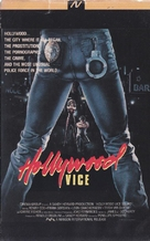 Hollywood Vice Squad - Finnish VHS movie cover (xs thumbnail)