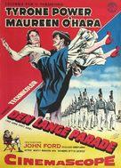 The Long Gray Line - Danish Movie Poster (xs thumbnail)