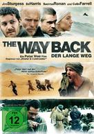 The Way Back - German DVD cover (xs thumbnail)