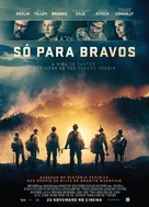 Only the Brave - Portuguese Movie Poster (xs thumbnail)